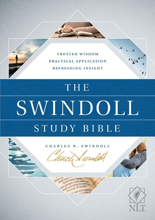 The NLT Swindoll Study Bible (Hard Cover)