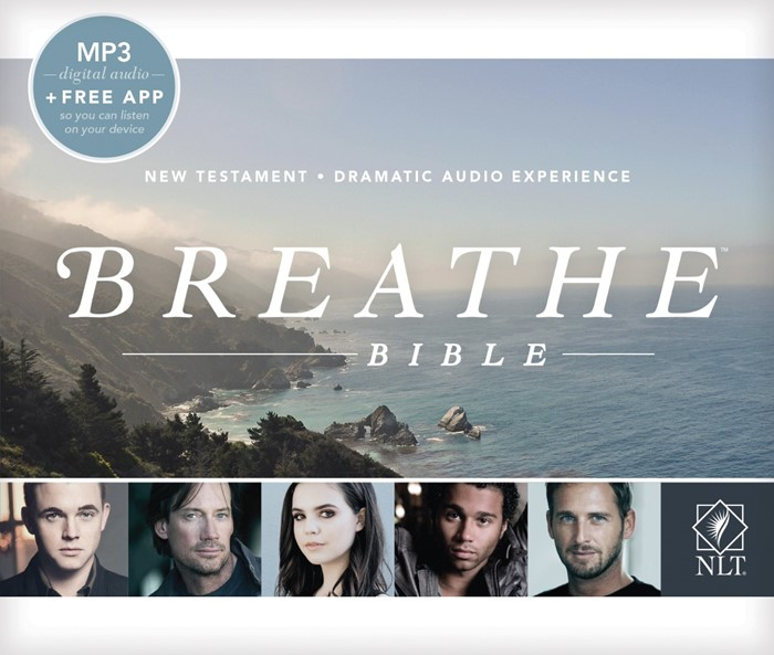 NLT Breathe Bible Audio New Testament MP3 (CD-Audio)
