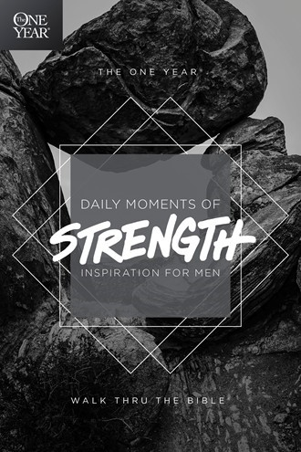 The One Year Daily Moments of Strength (Paperback)