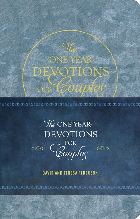 The One Year Devotions for Couples (Leather Binding)