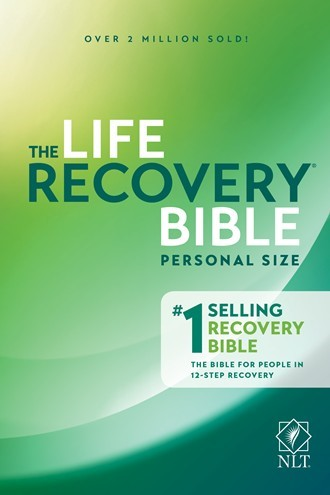 NLT Life Recovery Bible, Personal Size (Paper Back)