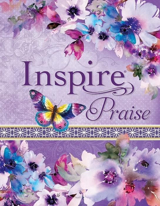 NLT Inspire PRAISE Bible Feminine Deluxe (Leather Binding)