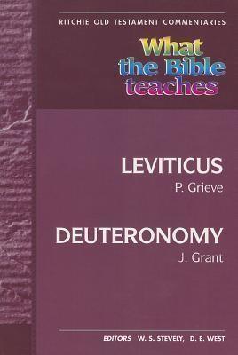 WTBT Vol 10 OT Leviticus to Deuteronomy (Paper Back)
