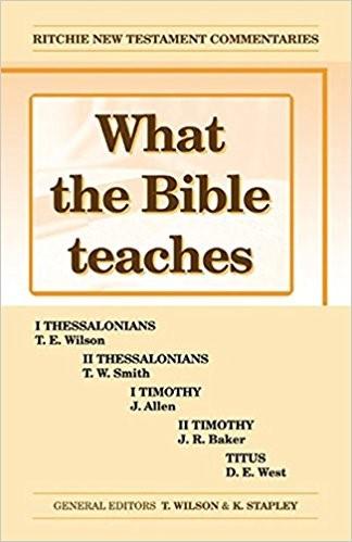 WTBT Vol 3 NT Thessolonians Timothy Titus (Paperback)