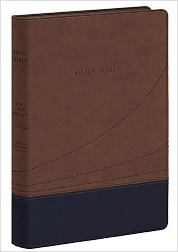 KJV Large Print Thinline Reference Bible (Flexisoft)