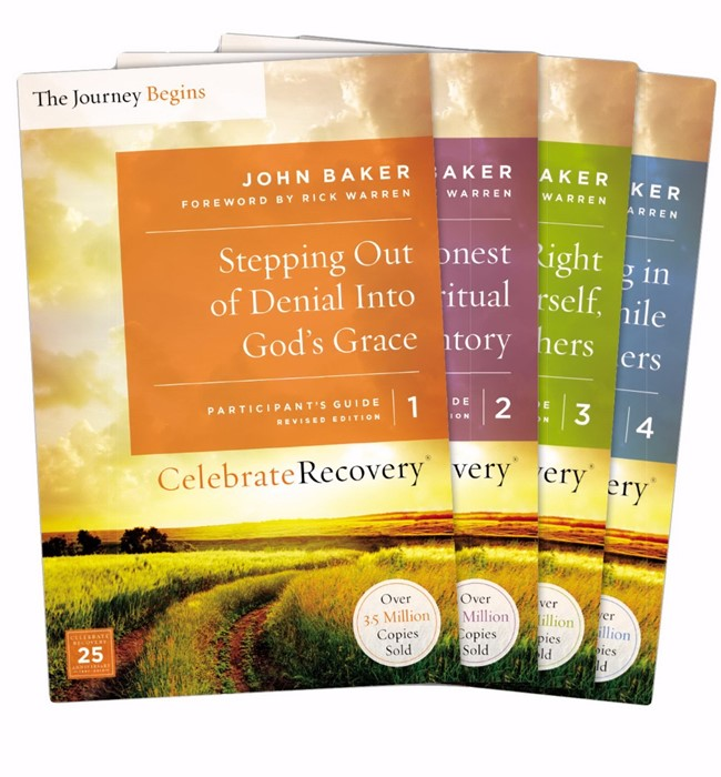 Celebrate Recovery Updated Participant's Guide Set, Vols 1-4 (Paper Back)