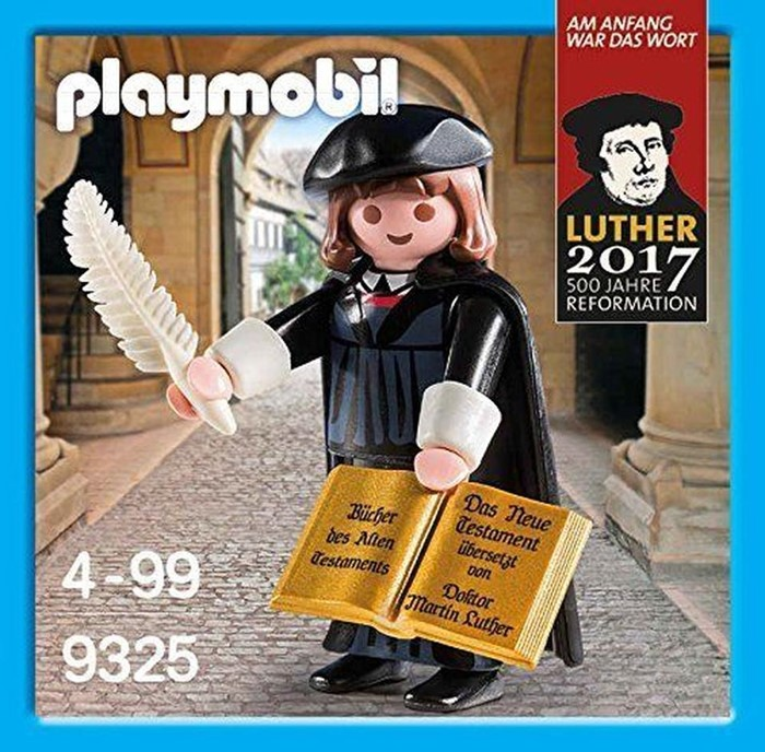 Playmobil Martin Luther Monk (Game)