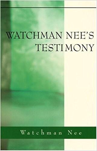 Watchman Nee's Testimony (Paperback)