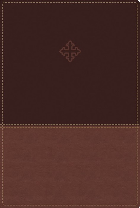 Amplified Study Bible, Imitation Leather, Brown, Indexed (Leather-Look)