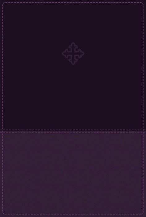 Amplified Study Bible, Imitation Leather, Purple, Indexed (Imitation Leather)
