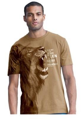 T-Shirt Lion Adult Large