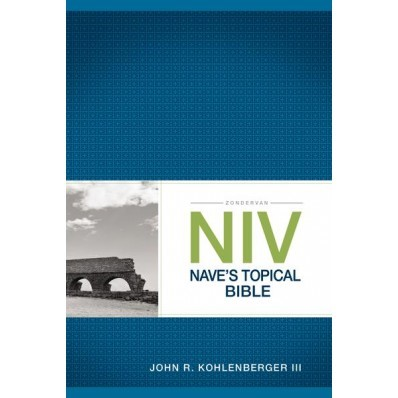 NIV Nave's Topical Bible (Paper Back)