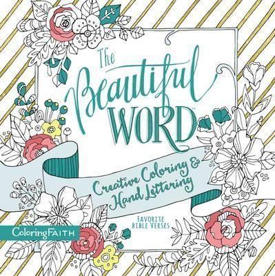 Beautiful Word Adult Coloring Book (Paperback)