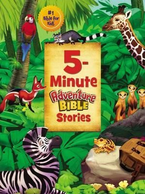 5-Minute Adventure Bible Stories (Hard Cover)