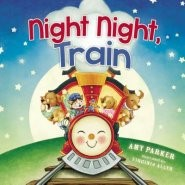Night Night, Train (Board Book)