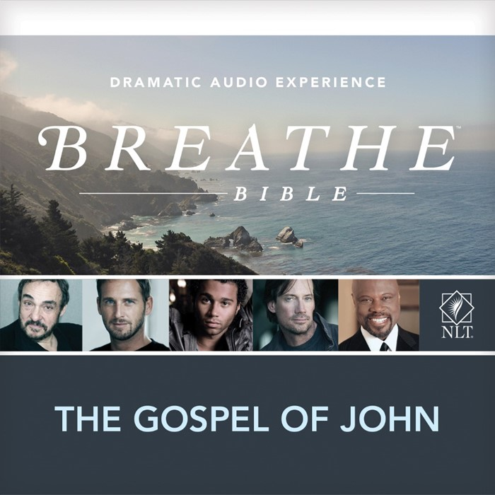 NLT Breathe Gospel of John 2CD (CD-Audio)