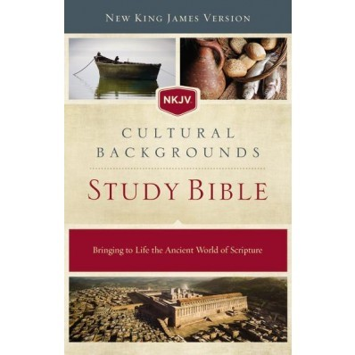 NKJV Cultural Backgrounds Study Bible, HB, Red Letter Ed. (Hard Cover)