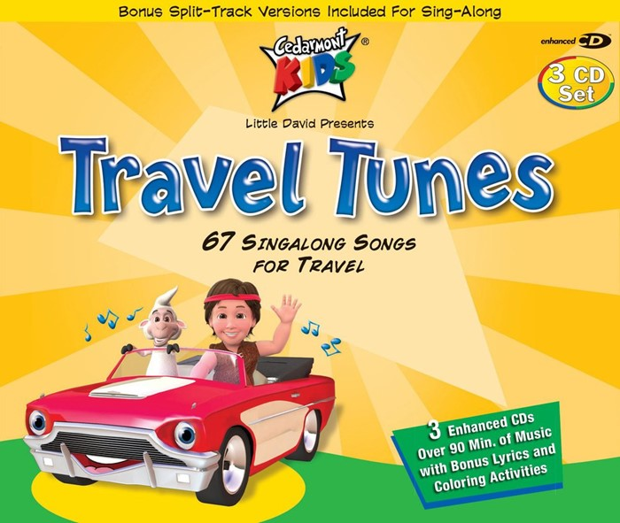 Travel Tunes CD (CD-Audio)