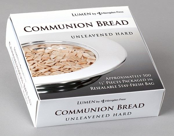 Communion Bread, Unleavened Hard (Box of 500)