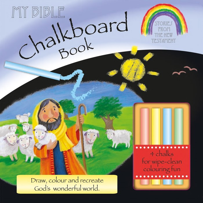 My Bible Chalkboard Book