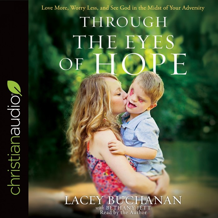 Through The Eyes Of Hope: Audio Book (CD- Audio)