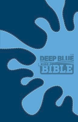 CEB Deep Blue Kids Bible Decotone Midnight Splash (Leather Binding)