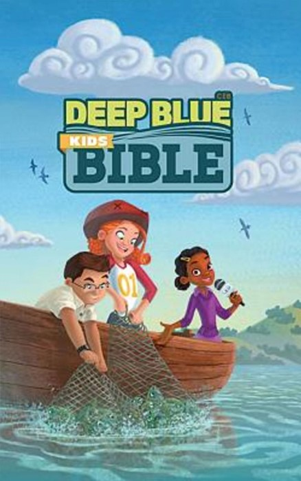 CEB Deep Blue Kids Bible Bright Sky Hardcover (Hard Cover)