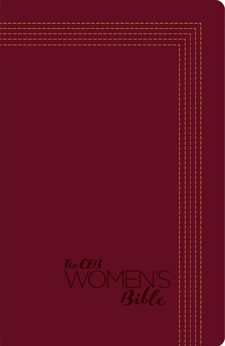 CEB Women's Bible DecoTone (Leather Binding)