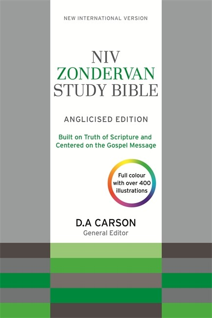 NIV Zondervan Study Bible (Anglicised) Hardcover (Hard Cover)