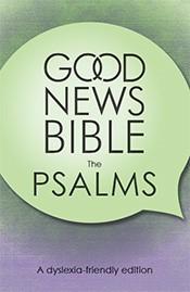GNB Dyslexia-Friendly Psalms (Paper Back)