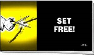 Tracts: Set Free! (Pack of 25) (Tracts)
