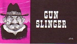 Tracts: Gun Slinger (Pack of 25) (Tracts)