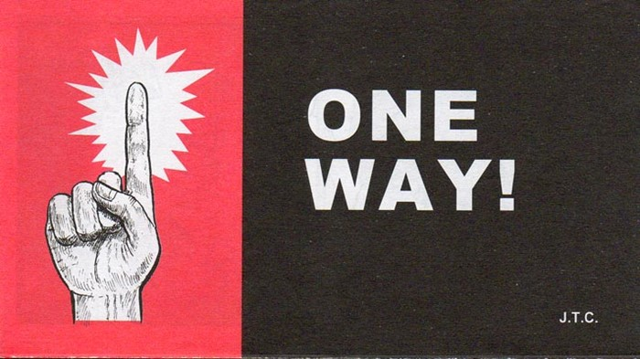 Tracts: One Way! (Pack of 25) (Tracts)
