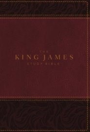King James Study Bible, The, Indexed, Full-Color Ed. (Imitation Leather)