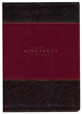 King James Study Bible, The, Full Color Edition