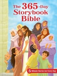 The 365-Day Storybook Bible, Padded (Hard Cover)