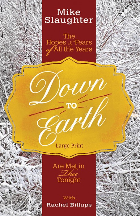 Down to Earth [Large Print] (Paperback)