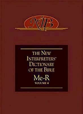 New Interpreter's Dictionary of the Bible Volume 4 - NIDB (Hard Cover)