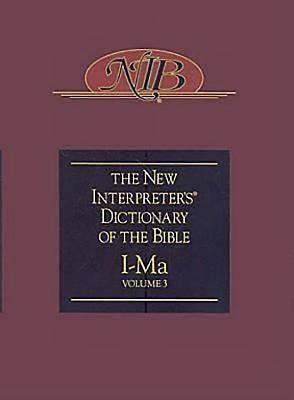 New Interpreter's Dictionary of the Bible Volume 3 - NIDB (Hard Cover)