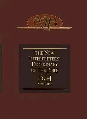 New Interpreter's Dictionary of the Bible Volume 2 - NIDB (Hard Cover)