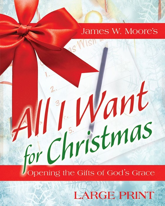 All I Want For Christmas [Large Print] (Paperback)