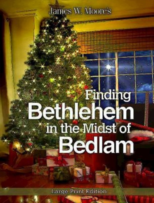 Finding Bethlehem in the Midst of Bedlam - Large Print (Paperback)