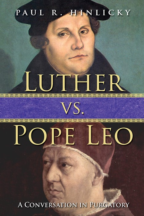 Luther vs. Pope Leo (Paper Back)