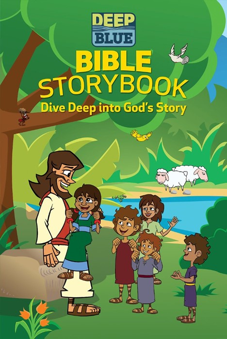 Deep Blue Bible Storybook (Hard Cover)