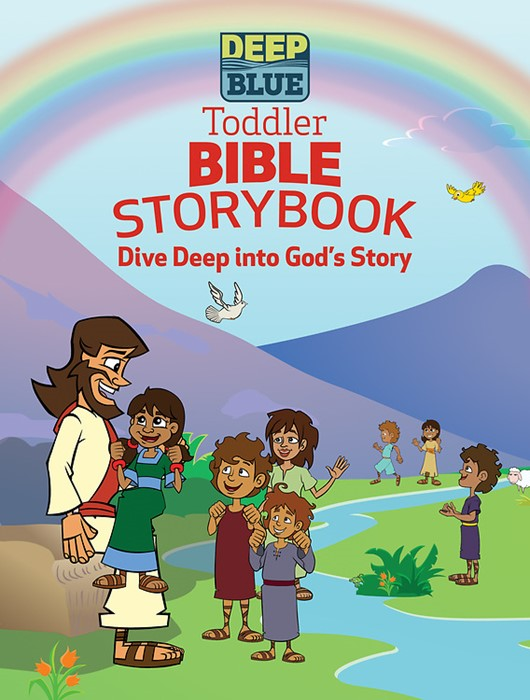 Deep Blue Toddler Bible Storybook (Board Book)