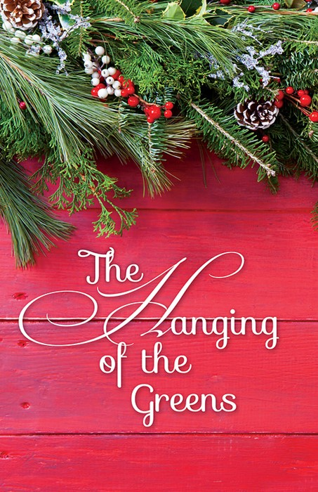 The Hanging of the Greens Holly Christmas Bulletin (Pkg of 5 (Bulletin)