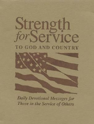 Strength for Service to God and Country - Khaki (Paperback)