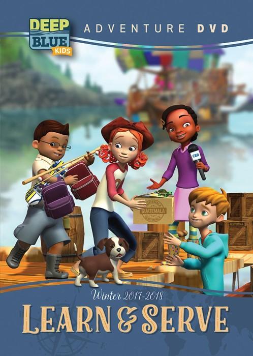 Deep Blue Kids Learn & Serve Adventure DVD Winter 2017-18 (DVD)