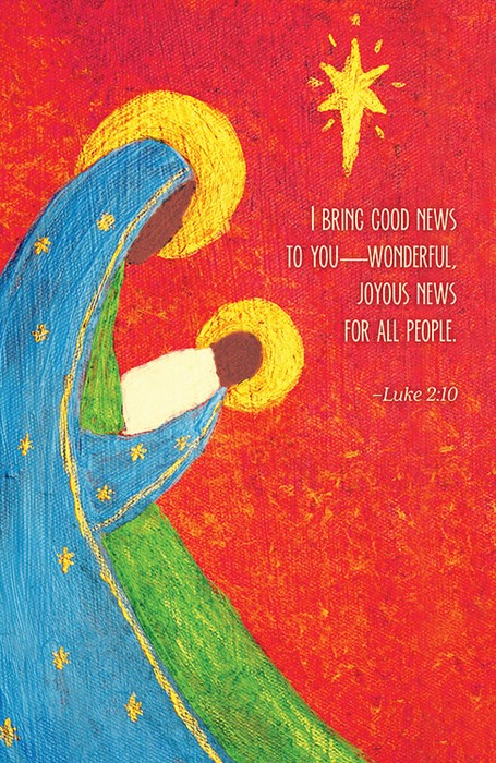 Good News Nativity Christmas Bulletin (Pkg of 50) (Bulletin)