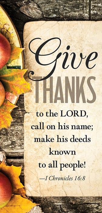 Give Thanks Apples Thanksgiving Offering Envelope (Pkg of 50 (Bulletin)
